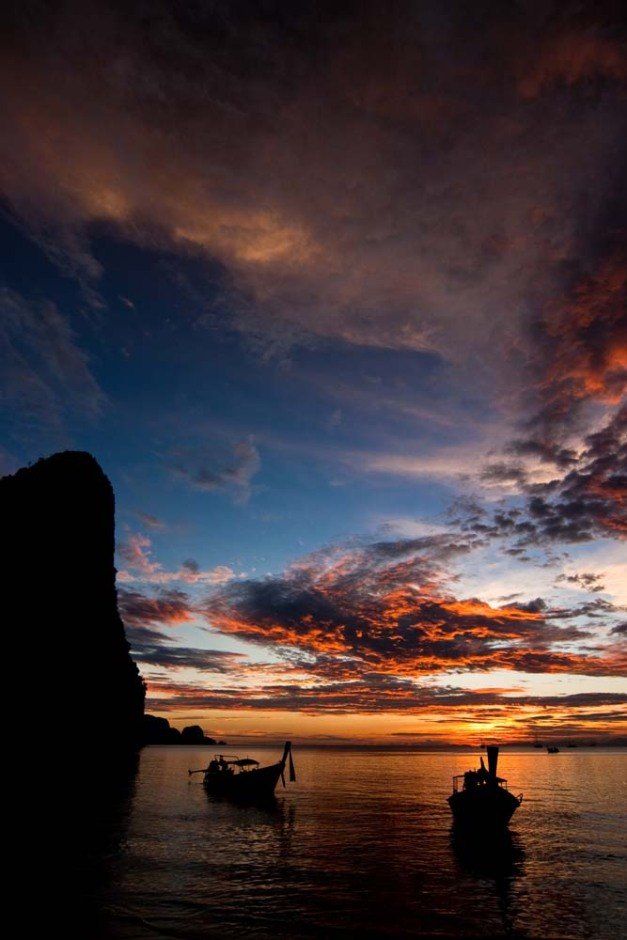 railay-sunset