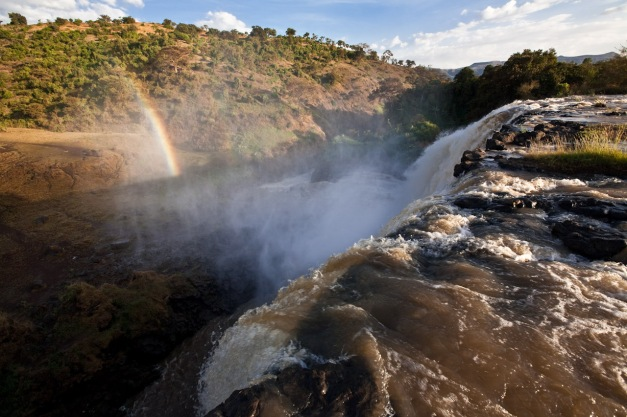 Blue Nile Falls & Rainbow