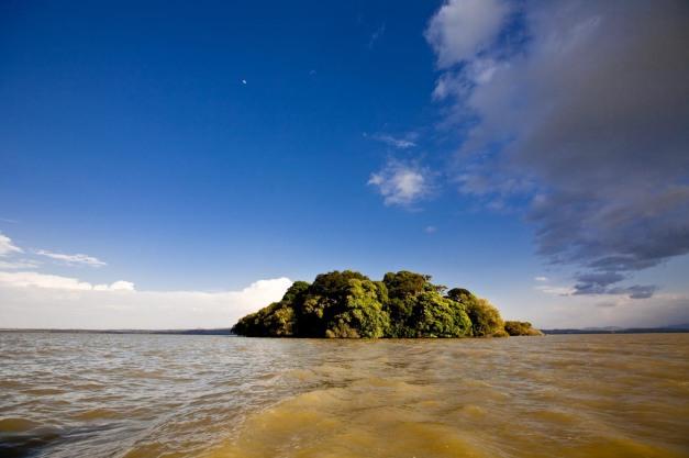 Island, Lake Tana, Bahir Dar, Ethiopia