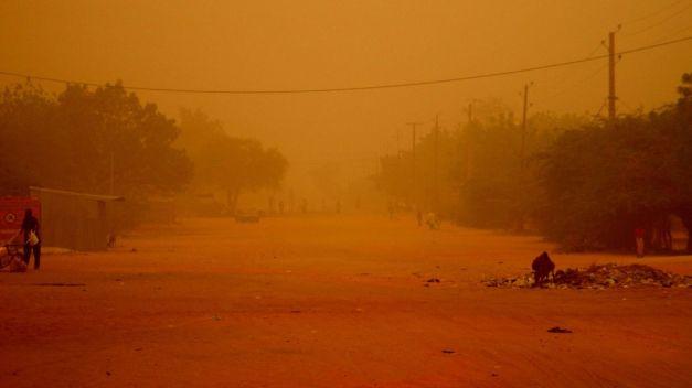 Dust Storm, Maradi