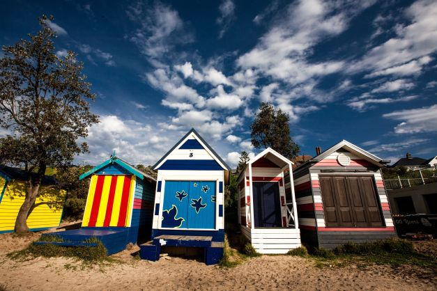 Beach Huts Mornington