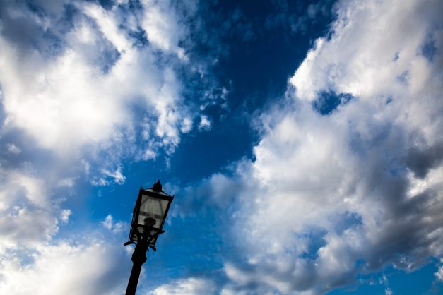 Lampost Clouds