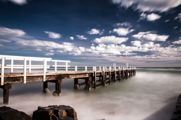 45 Second Exposure- Port Philip Bay