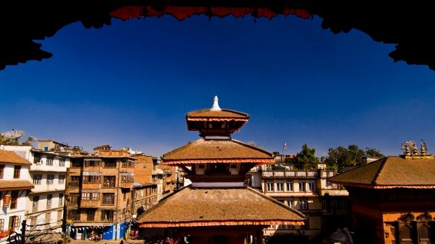 Durbar Square in Kathmandu, 2007