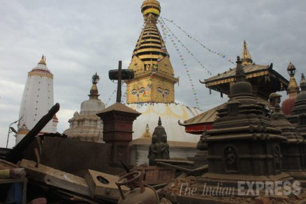 Swayambhunath (Monkey Temple), March 25, 2015