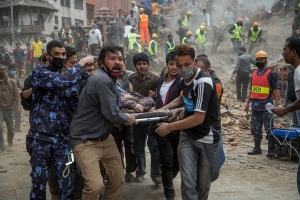 Image: Kathmandu Struck By Powerful Earthquake